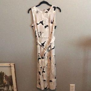 Ann Taylor floral print dress